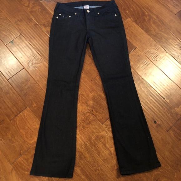 True Religion Denim - Dark Blue True Religion Flare Jeans Size 30